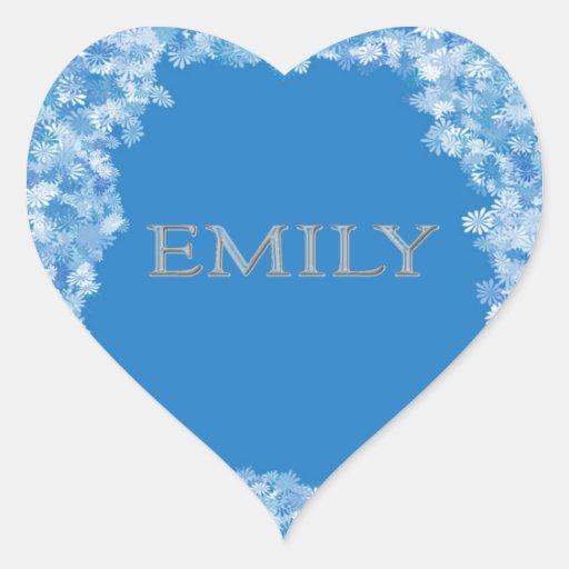 Name Emily Stickers, Name Emily Sticker Designs