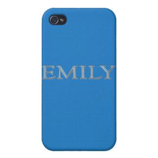 Emily personalizó nombre iPhone 4/4S carcasas