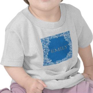 Emily personalizó nombre camisetas