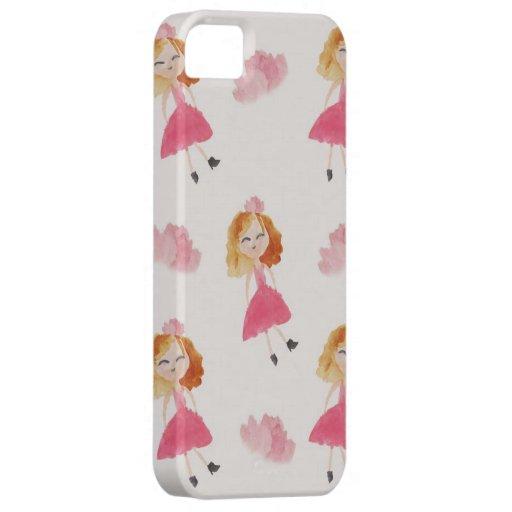"""""""Emily"""" por la sabana Alexis iPhone 5 Case-Mate Carcasa"""