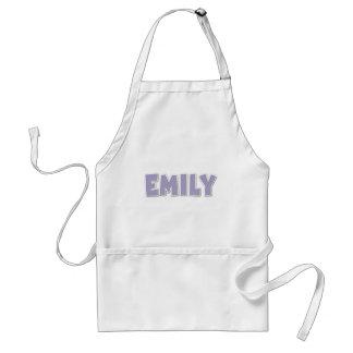Emily Purple Popout Adult Apron
