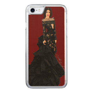 Emily Ratajkowski Carved iPhone 8/7 Case