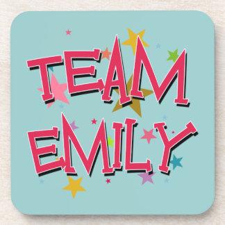EMILY Team Emily Beverage Coasters
