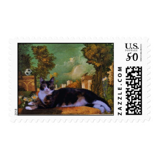 Emily the Cat Postage Stamps