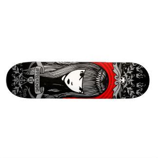 Emily the Strange Crest Skateboard Deck