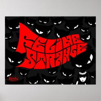 Emily the Strange: Feline Strange Poster