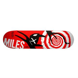 Emily the Strange Miles Skateboard Deck