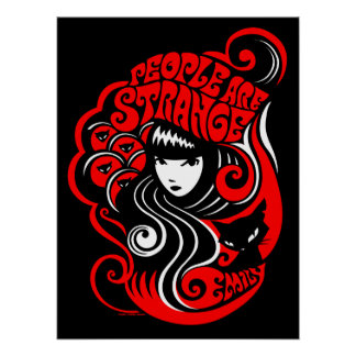 Emily the Strange: People are Strange Poster
