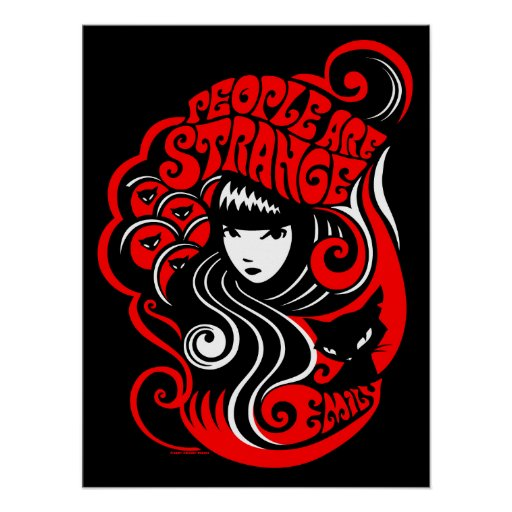 Emily the Strange: People are Strange Poster