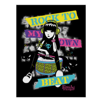 Emily the Strange: Rock to My Own Beat Poster