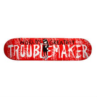 Emily the Strange Troublemaker Skateboard