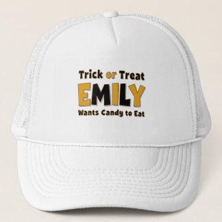 Emily Trick or Treat Trucker Hat
