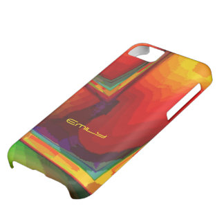 Emily's Orange and Green iPhone 5 case