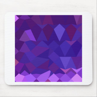 Eminence Purple Abstract Low Polygon Background Mouse Pad