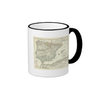 Emirate of Cordoba until the destruction Ringer Coffee Mug