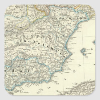 Emirate of Cordoba until the destruction Square Sticker