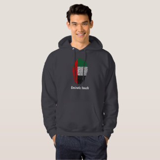 Emirate touch fingerprint flag hoodie