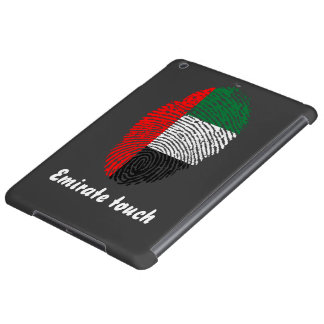 Emirate touch fingerprint flag iPad air covers