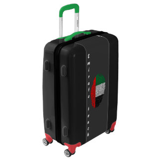 Emirate touch fingerprint flag luggage