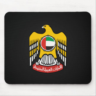 Emirati coat of arms mouse pad