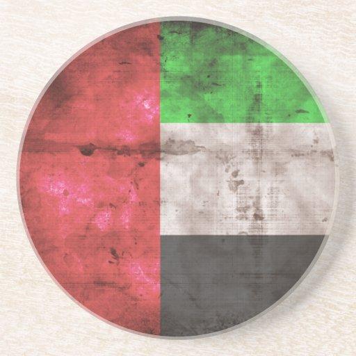 Emirati Flag Beverage Coaster