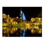 Emiratos de Souk Madinat Jumeirah del Al-Árabe de  Postal