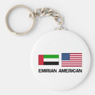 Emirian American Key Chains