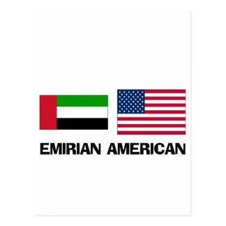Emirian American Postcard