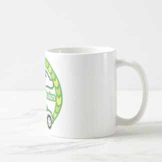 Emisión cero taza de café