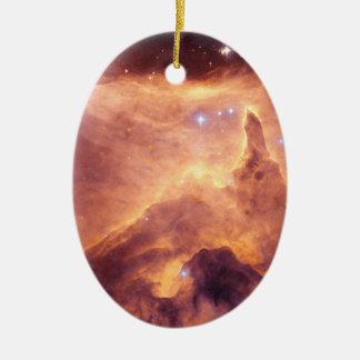 Emission Nebula NGC6357 Ceramic Ornament