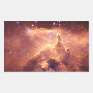 Emission Nebula NGC6357 Rectangular Sticker