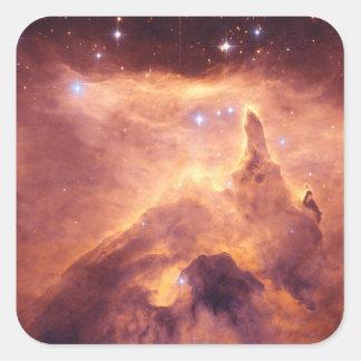 Emission Nebula NGC6357 Square Sticker
