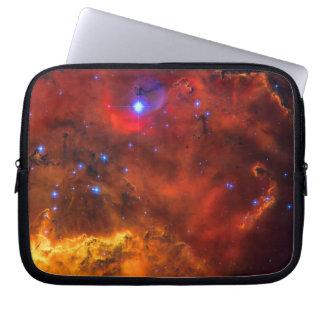 Emission Nebula NGC 2467 in Constellation Puppis Computer Sleeve