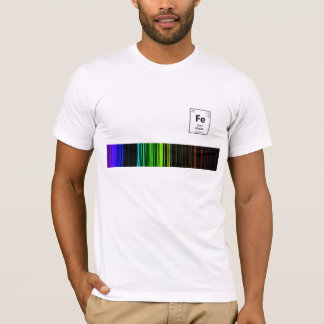 Emission spectrum Fe T-Shirt