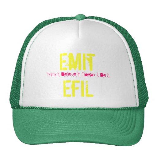 Emita EfiL Gorra-Verde/amarillo