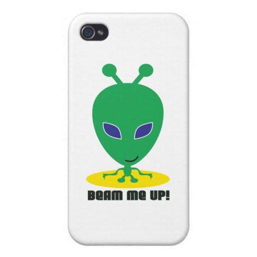 Emítame para arriba iPhone 4/4S carcasas