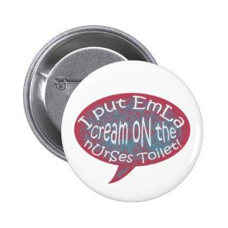 Emla Cream! Button