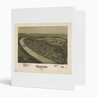 """Emlenton el condado de Venango Pennsylvania (1897) Carpeta 1"""""""