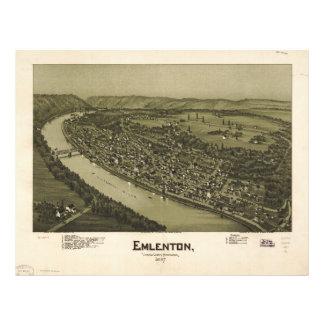 Emlenton Venango County Pennsylvania (1897) Letterhead