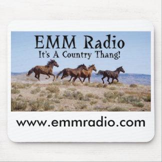 EMM Mousepad de radio Tapetes De Raton