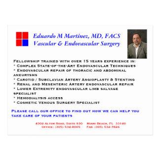 emm pic, EMM MD PA Logo a1, Eduardo M Martinez,... Postcard