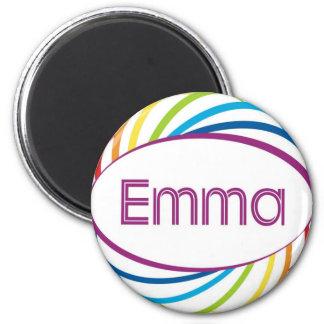 Emma 2 Inch Round Magnet