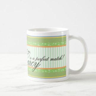 Emma and Mr. Darcy Mug