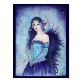 Emma Angel Holiday Postcard By Renee L Lavoie