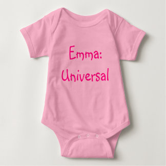 Emma Baby Name Meaning Bodysuit