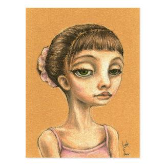 Emma - ballet dancer postcard