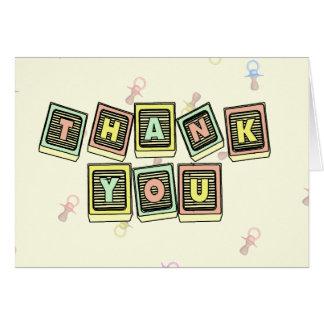 Emma Bear Thank You cards