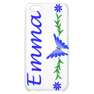 Emma (Blue Butterfly) iPhone 5C Case