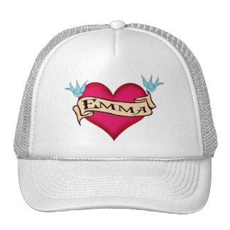Emma - camisetas y regalos de encargo del tatuaje  gorras de camionero