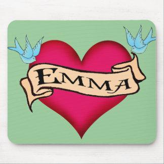 Emma - camisetas y regalos de encargo del tatuaje tapetes de ratón